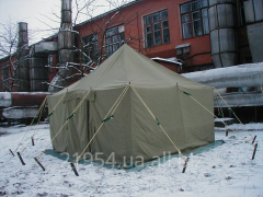 Tents are camp officer