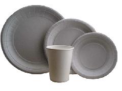 Посуда бумажная одноразовая