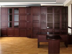 Production of furniture for kabynet to buy office
