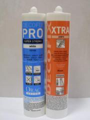Construction adhesive DecoFix Pro, docking DecoFix