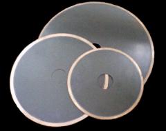 Detachable diamond wheel of a direct profile 1A1