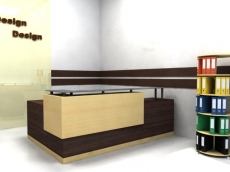 The reception, qualitative furniture for office