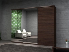 Production of sliding wardrobes by individual