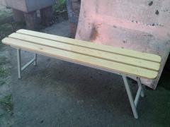 Shop, bench folding