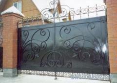 Ворота металлические,кованные