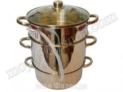 Sokovarka stainless steel of 8 liters (R-105 code)