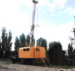Установка колонкового бурения УКБ-5С самоходная