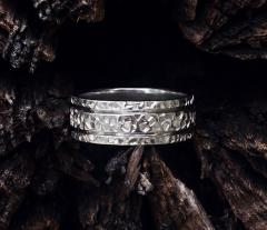 Ring of Hammered ring ArHr01