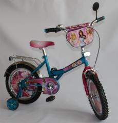 Barbie's bicycle 16 BT-CB-0021 blue with