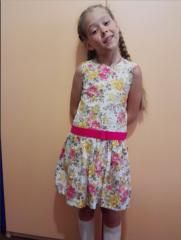 Пошив платьев для девочек индивидуальный