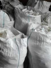 Polypropylene bags used, 105h55 cm