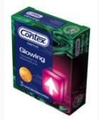 Презервативы Contex Glowing №3
