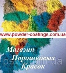Powder paint, black, shagreen leather