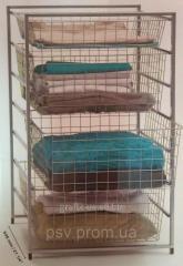 Mesh racks and racks