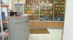 Furniture for drugstores