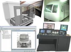 Тренажерный комплекс подготовки специалистов железнодорожного транспорта
