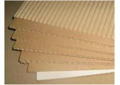 2-layer corrugated cardboard