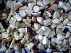 Замороженный Белый Гриб (Кубик 2,5-2,5см.)