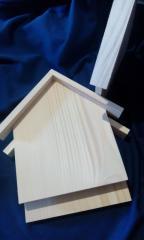 Ключница-домик без крючков ( ель )