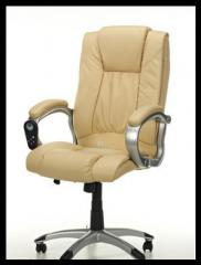 Кресло офисное MANLINE с массажем и подогревом