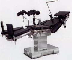 The DS-1 operating table, with the electric drive