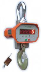 Scales crane electronic 2 tons of UP-GREEN