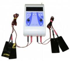 The device for electrotreatment two-channel
