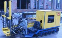 The self-propelled UNB7 installation of the
