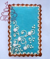 Gingerbread - Tiffany's card, handwork