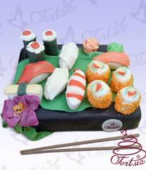 Cake to order Sushi