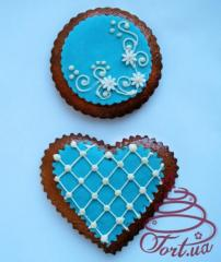 Set of gingerbreads of Tiffany, 2 pieces