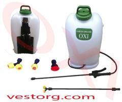Sprayer garden accumulator OXI 16 of l automatic
