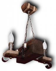 Светильник подвесной 2-х рожковый 07602 свк