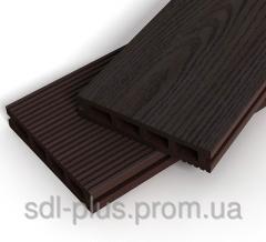 Террасная доска Zagu Classic Темный шоколад