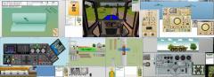 Virtual exercise machines