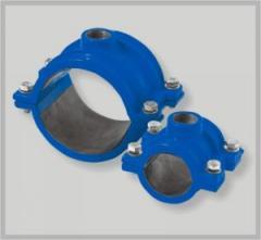 Collar otvetvitelny for pipes from PVC/PE