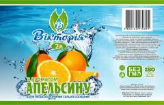 """Напиток с ароматом апельсина ТМ """"Виктория"""""""