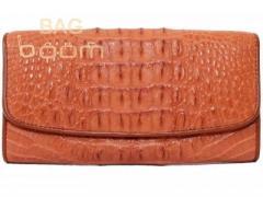 Кошелек женский  из кожи крокодила NPCM 03 CB Tan