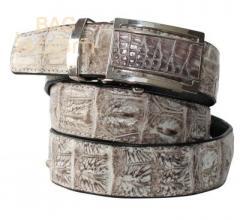 Belt from leather of a crocodile (N105 ALB-B