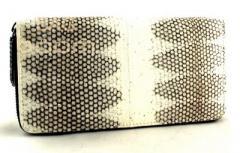 Женское портмоне из кожи морской змеи (N-6412 Natural)