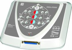 The encephalograph with the VP functions and video