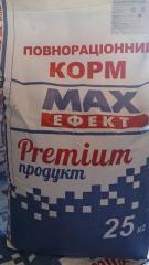 MAX ЭФФЕКТ  Стартовый корм для цыплят (с