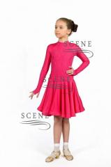 Rating dress with Raglan guipure
