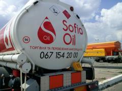 Diesel fuel of all brands