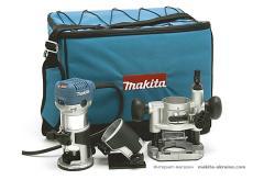Makita RT0700CX2 milling cutter (220B, 710 W,