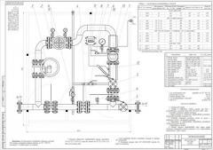 Пункт учета газа ПУГ с роторными счетчиками газа
