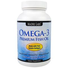 Cod-liver oil of a premium class with an omega-3,