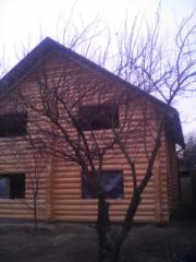 Wooden houses fellings from the producer Ukraine