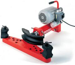 The electric hydraulic pipe bender with an open
