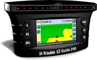 System of parallel driving (Trimble EZ-Guide250)